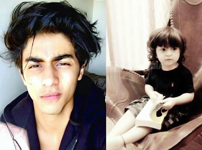 bollywood siblings and their unexpected age gaps-Aryan Khan and AbRam Khan