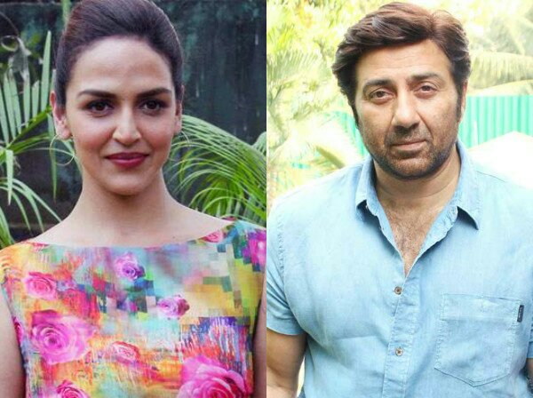 bollywood siblings and their unexpected age gaps-Esha Deol and Sunny Deol