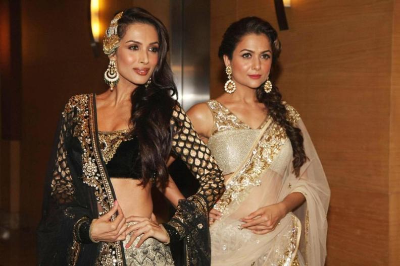 bollywood siblings and their unexpected age gaps-Malaika Arora Khan And Amrita Arora