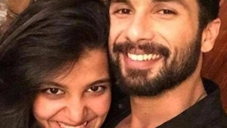 bollywood siblings and their unexpected age gaps-Shahid Kapoor and Sanah Kapoor