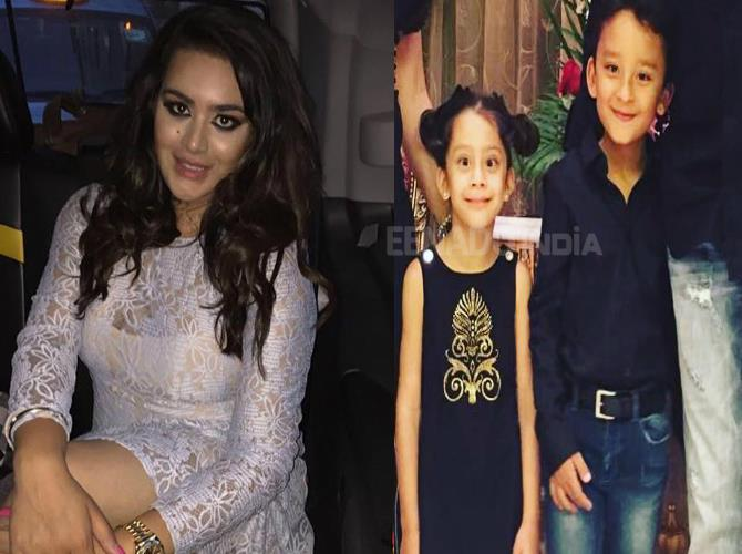 bollywood siblings and their unexpected age gaps-Trishala Dutt and Shahraan Dutt and Iqra